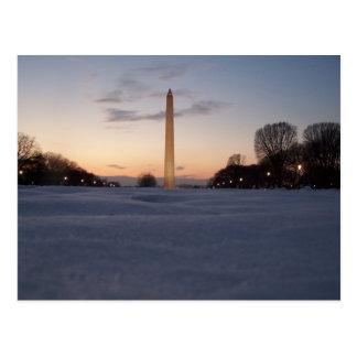 Snow Monument Postcard