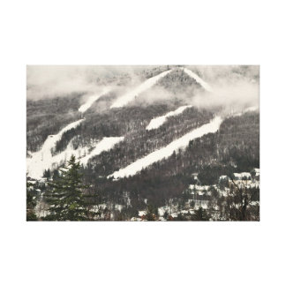Snow Mountain Photography Canvas Print