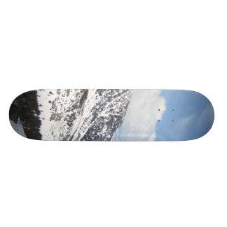 Snow Mountain Ranges Skateboard