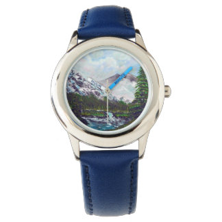 Snow mountains watch