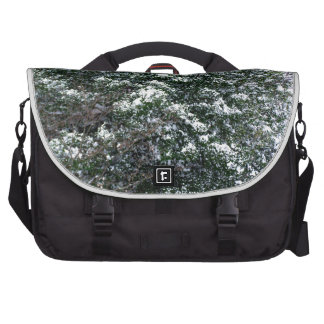 Snow On A Holly Tree Laptop Computer Bag