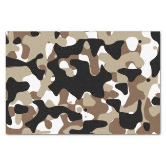 Snow open terrain  Camouflage Tissue Paper