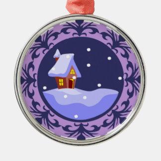 Snow ornament