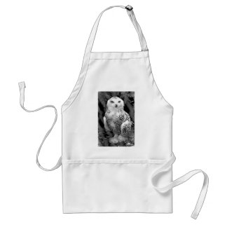 Snow Owl Baby Apron