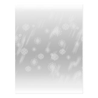 Snow Pale Postcard