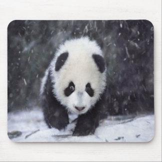 Snow Panda Baby Mousepad