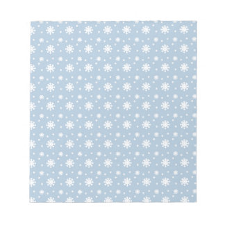 Snow Pattern Notepad