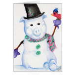 Snow PIG Card