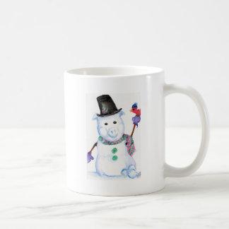 Snow PIG Coffee Mug