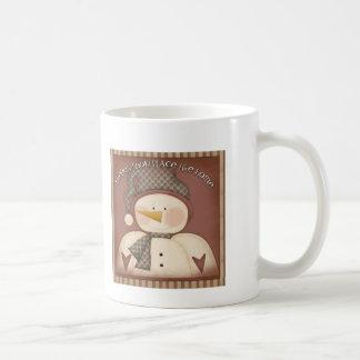 Snow place like home coffee mug