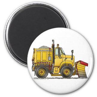 Snow Plough Truck Magnets
