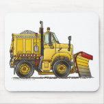 Snow Plough Truck Mouse Pad