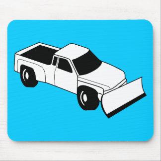snow plow truck mousepad