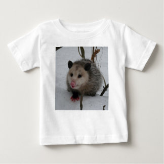 Snow Possum Baby T-Shirt