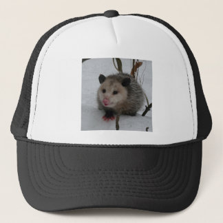 Snow Possum Trucker Hat