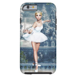 Snow Princess Ballerina Nutcracker iPhone 6 case