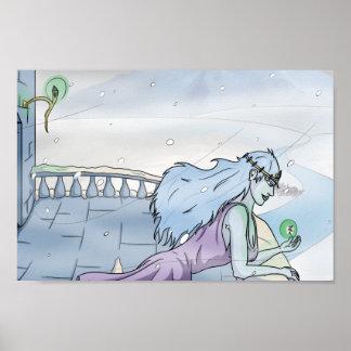 Snow Princess Poster