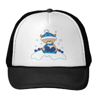 Snow Puppy Winterland Trucker Hats