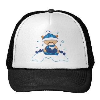 Snow Puppy Winterland Trucker Hats