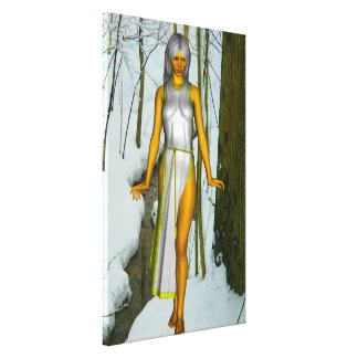 Snow Queen Gallery Wrapped Canvas