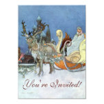 Snow Queen Ice Princess 11 Cm X 16 Cm Invitation Card