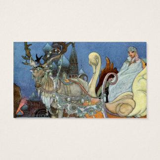 Snow Queen Ice Princess Business Card