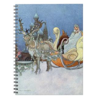 Snow Queen Ice Princess Spiral Note Book