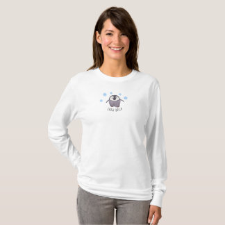 Snow queen penguin winter wear / any wording T-Shirt
