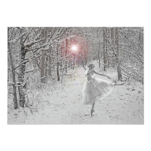 Snow Queen Personalized Invite