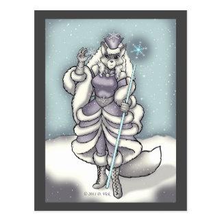 Snow Queen Postcard