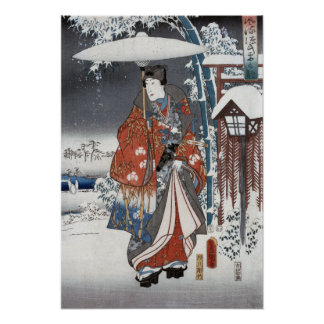 Snow Samurai Posters & Prints
