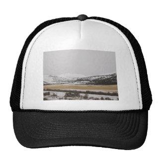 snow scene hats