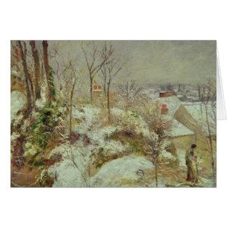 Snow Scene Card