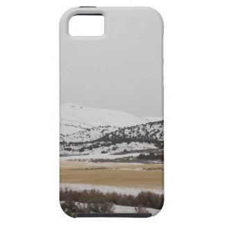 snow scene iPhone 5 cover