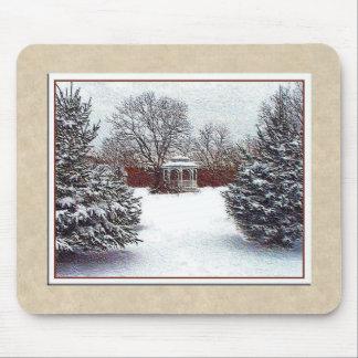 Snow Scene Mousepad