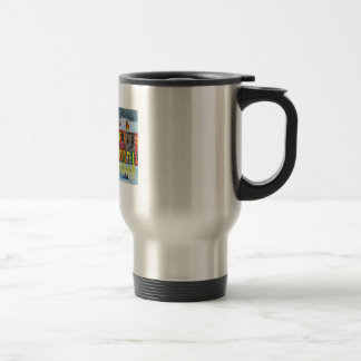 SNOW SCENE TRAM STREET SCENE Gordon Bruce Coffee Mugs