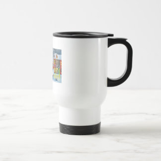 SNOW SCENE TRAM STREET SCENE Gordon Bruce Coffee Mug