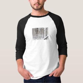 snow scene tshirts
