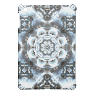 Snow Serenity Mandala Case For The iPad Mini