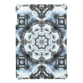 Snow Serenity Mandala iPad Mini Cases