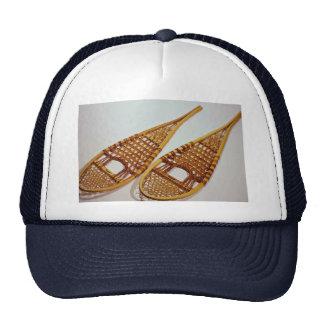 Snow shoes mesh hat
