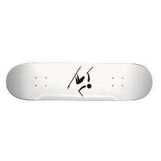Snow Skier Skateboard Decks