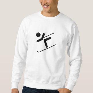 Snow Skier Sweatshirt
