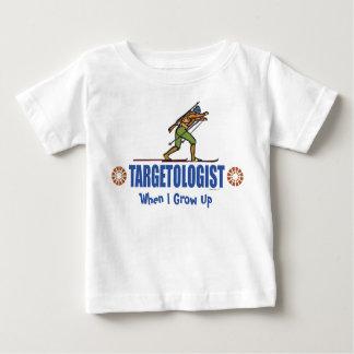 Snow Skiing Biathlon Baby T-Shirt