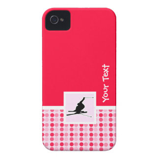 Snow Skiing iPhone 4 Cover