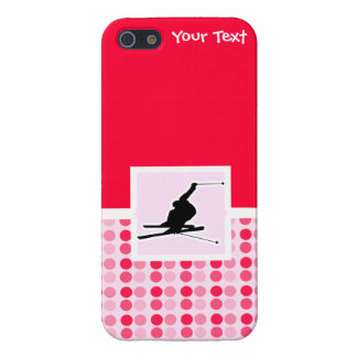 Snow Skiing iPhone 5/5S Cases