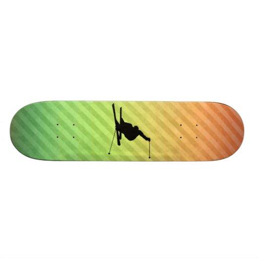 Snow Skiing Skate Board Decks