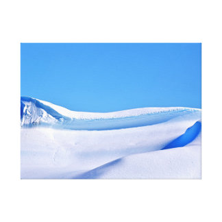 Snow & Sky Stretched Canvas Prints