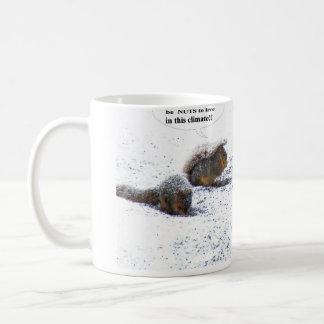 Snow Squirrels coffee Mug