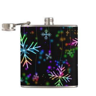 Snow Star Hip Flask